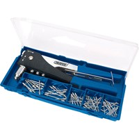 Draper 2 Way Riveter and 60 Assorted Rivets