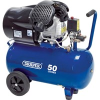 Draper DA50/412TV Air Compressor50 Litre