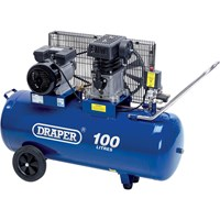 Draper DA100/330 Belt Driven Air Compressor 100 Litre
