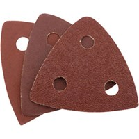Draper Punched Delta Sanding Sheets for 23038 Oscillating Multi Tool