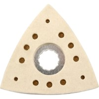 Draper Triangular Polishing Pad for for Oscillating Multi Tool