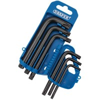 Draper 6 Piece Security Torx Key Set