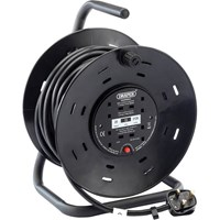 Draper 4 Socket Industrial Cable Reel 13amp 240v