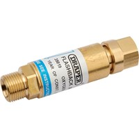 Draper Oxygen Flash Back Arrestor