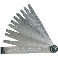 Draper 10 Blade Feeler Gauge Set Metric
