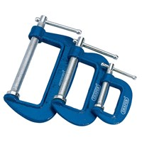 Draper 3 Piece G Clamp Set