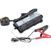 Draper MC1 Compact Car Battery Charger & Maintainer