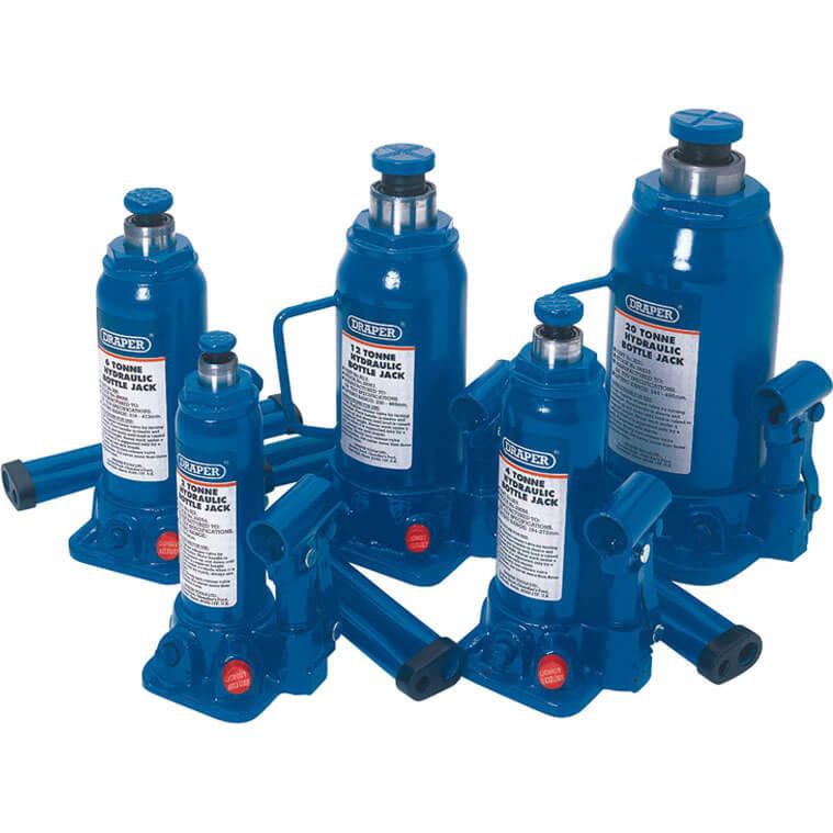 Draper Hydraulic Bottle Jack 2 Tonne