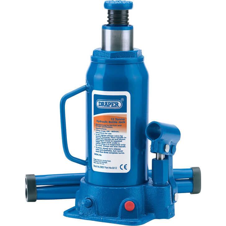 Draper Hydraulic Bottle Jack 12 Tonne