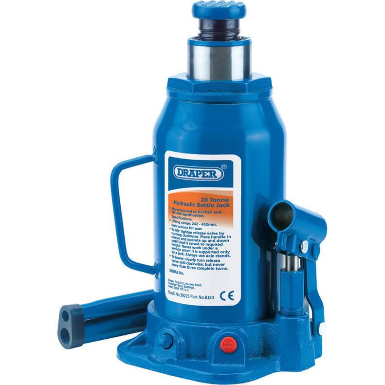 Draper Hydraulic Bottle Jack 20 Tonne