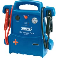 Draper Portable Emergency Jump Starter and Power Pack