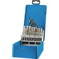 Draper 28 Piece Tap and Drill Bit Set Metric