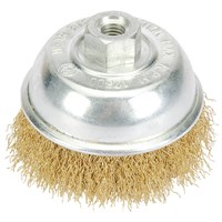 Draper Long Life Brassed Wire Cup Brush