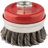 Draper Twist Knot Wire Cup Brush