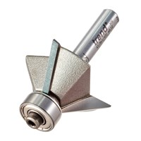 Trend Bearing Guided Triple Flute Chamfer Router Bit
