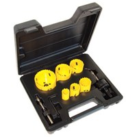 CK 8 Piece Hole Saw Set