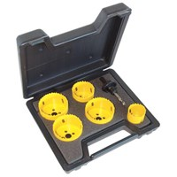 CK 6 Piece Hole Saw Set