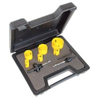 CK 9 Piece Electricians Hole Saw Set