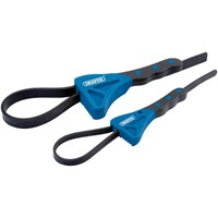 Draper 2 Piece Soft Grip Strap Wrench Set