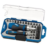 Draper 42 Piece Ratchet Screwdriver & Bit Set