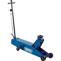 Draper TJ10 Heavy Duty Long Chassis Trolley Jack