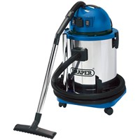 Draper WDV50SS Wet and Dry Vacuum Cleaner