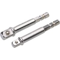 "Draper 1/4"" Hex 1/4"" and 3/8"" Drive Adaptors"