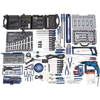 Draper 8 Drawer Roller Cabinet and Top Tool Chest + 42 Piece Tool Kit