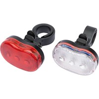 Draper Front & Rear LED Bicycle Light Set
