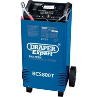 Draper Expert BCS800T Automotive Battery Starter and Charger