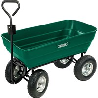 Draper Larger Heavy Duty Tipping Garden Trolley