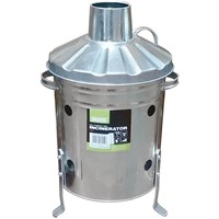 Draper Galvanised Mini Incinerator