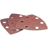 Draper Punched Delta Sanding Sheets 23666 Oscillating Multi Tool