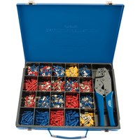 Draper 590 Piece Ratchet Cable Crimping Tool and Terminal Kit
