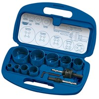 Draper Expert 12 Piece Bi Metal Hole Saw Set