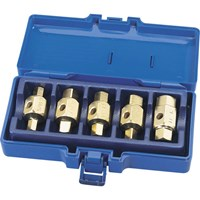Draper 5 Piece Drain Plug Key Set