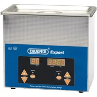 Draper Expert Ultrasonic Parts Cleaning Tank
