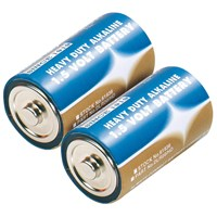 Draper Heavy Duty D Alkaline Batteries