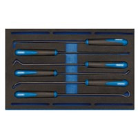 Draper 6 Piece Long Reach Hook & Pick Set In Eva Insert Tray