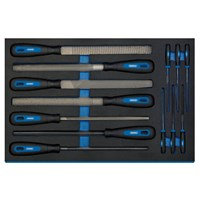 Draper 13 Piece Hand File Set In Eva Insert Tray