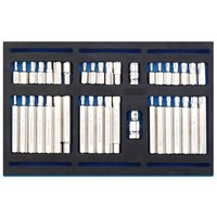 Draper 40 Piece Screwdriver Insert Bit Set In Eva Insert Tray