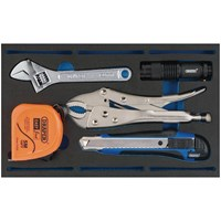 Draper 5 Piece Tool Kit in EVA Insert Tray
