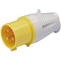 Draper Yellow Socket 16 amp 110v