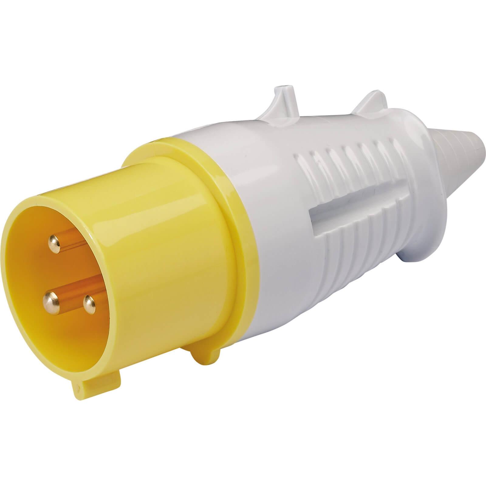 Draper Yellow Plug 32 amp 110v