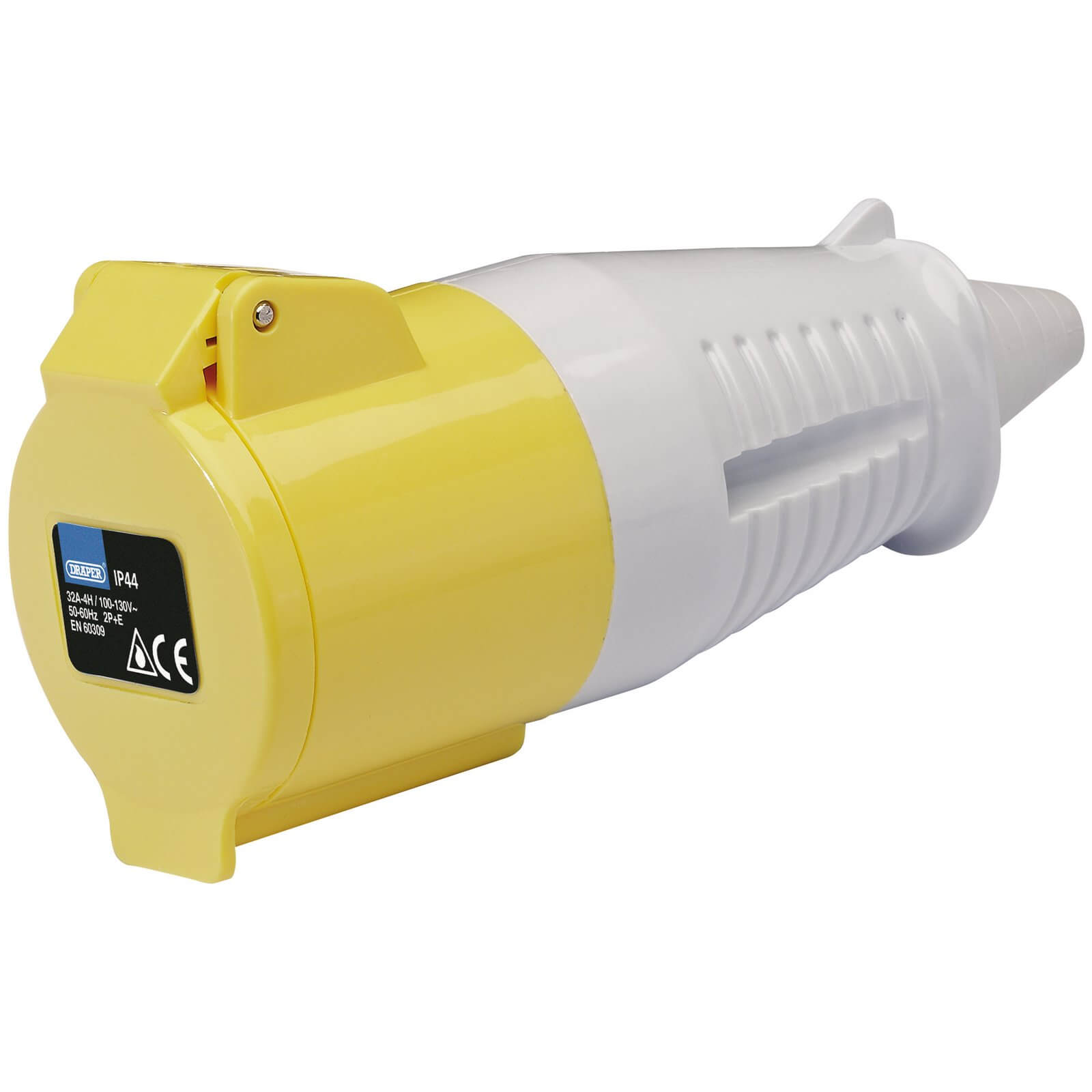 Draper Yellow Socket 32 amp 110v