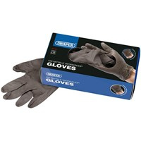 Draper Workshop Nitrile Gloves