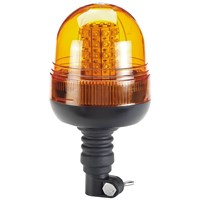 Draper RWB6 Flexible Spigot Base LED Rotating Warning Light / Beacon