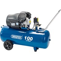 Draper DA100/412TV Air Compressor 100 Litre