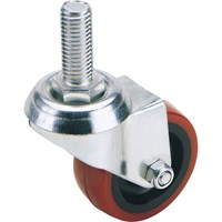 Draper Swivel Bolt Fixing Polyurethane Wheeled Castor
