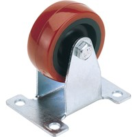 Draper Fixed Plate Fixing Polyurethane Wheeled Castor